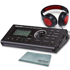 Tascam GB-10 - USB Guitar/Bass Trainer/Recorder Along With Samson Studio Head...