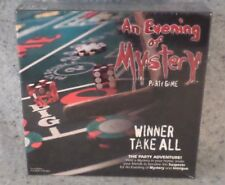 New Sealed AN EVENING of MYSTERY Party Game WINNER TAKE ALL 8 Adult Players