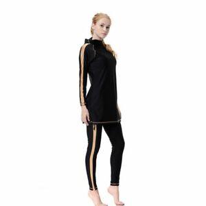 Modest Muslim Islamic Swimwear Swimsuit Burkini Monokini Burqini Two Piece Full