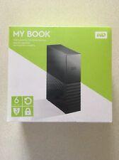 WD 6TB My Book Desktop External Hard Drive USB 3.0 WDBBGB0060HBK MAC AND WIN