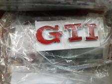VW Golf Polo GTI Emblem ROT für Heck Kofferraumdeckel Heckklappe Golf 4 5 6 7