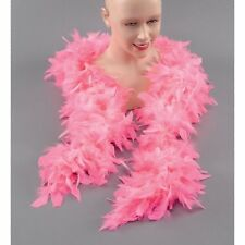 BURLESQUE STYLE GLAMOUR PINK FEATHER BOA Womens Ladies Fancy Dress
