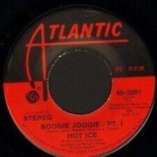 "HOT ICE boogie joogie part 1/part 2 45-3201 usa atlantic 1974 7"" WS EX/"