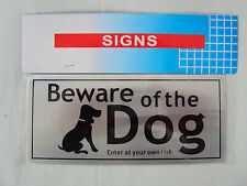 BEWARE OF THE DOG SIGN  15cm by 5cm, Stay legal with this Sign BRAND NEW