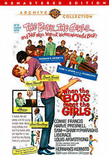 When the Boys Meet the Girls DVD (1965) - Herman's Hermits, Louis Armstrong