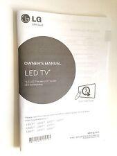 GENUINE ORIGINAL LG LED TV USER GUIDE MANUAL LB63 LB65 LB67 LB68 LB69 LB70 LB72