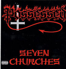 POSSESSED - SEVEN CHURCHES (*Used-CD, 1999, Combat Records) Remastered Thrash