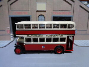 EFE 27306DL Leyland TD1 Manchester Corporation Enclosed staircase Rte 53 1/76 B4