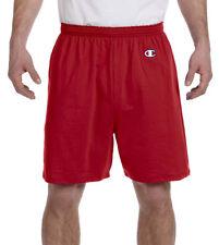 Champion Men's Elastic Drawstring Waistband Jersey 100%25 Cotton Short. 8187