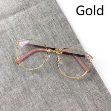 Women Sexy Round Glasses Fashion Metal Eyeglasses Clear Lens Eyewear Frame Men