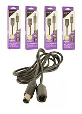 4 New 6 ft. Controller Cord Extensions for Nintendo Gamecube -- 6' Foot Cables