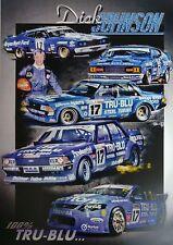 Dick Johnson 100% TRU-BLU A3 Poster Print Picture Image