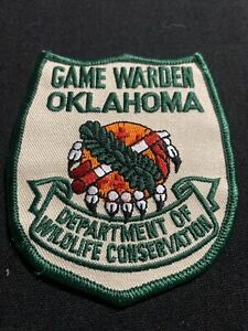 Oklahoma fish and game police sheriff patch