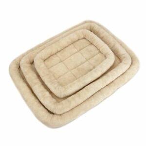Dog Bed Washable Puppy Crate Mattress Non Slip Pet Mat Dog Cushion Sleeping Beds