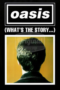 Original Oasis poster - Whats the story? (Noel Gallagher)