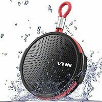 VTIN Bluetooth speaker waterproof IPX5 waterproof dustproof water F/S w/Track#