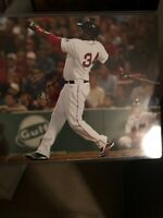David Ortiz Signed 8x10 Photo W/coa Boston Red Sox MLB
