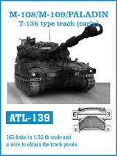 1/35 Friulmodel ATL-139 M108 / M109 / PALADIN T-136 Type (early) - Metal Tracks