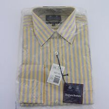"""NEW Men's Stephens Brothers Stripe Pure Cotton Shirt - Size 15""""/38cm"""