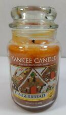 Yankee Candle Gingerbread 22 Oz  Large Glass Jar