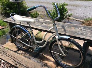 "Vintage Schwinn Banana Seat Sting Ray  20"" Girls Bike - Repaint - Good"