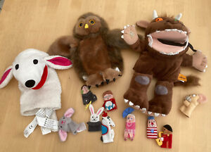 Gruffalo And Mouse Hand Puppet With Owl (Puppet Company) And Other Puppets IKEA