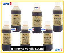 6 x PREEMA Vanille Essence 500 ml | restauration Taille | Culinary aromatisantes...