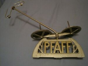 Vintage Antique PFAFF Industrial Sewing Machine Advertising Name Plate No Res