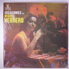 MIGUEL HERRERO: Creaciones De Miguel Herrero LP Sealed (reissue, drill hole)
