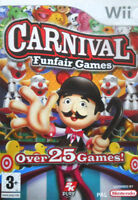 Carnival Funfair Games Wii NEW and Sealed Original UK Version Not Budget