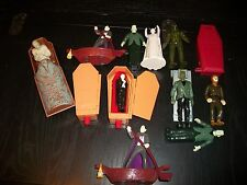 Universal Monsters toys-Mummy,Dracula, Frankenstein, Bride, Wolfman