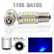 Backup Reverse 1156 BA15S 33SMD 180° LED Projector Lens Blue Bulb K1 For Audi VW