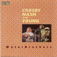 CROSBY NASH & YOUNG - Waterbrothers RARE  CD  Very Good super sonice