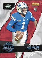 PRESALE 2021 Panini Instant Zach Wilson Draft Night #2 Overall Pick RC Rookie SP