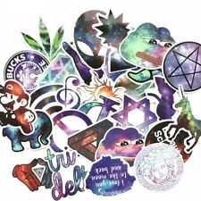 28 music sticker lot space galaxy stickers