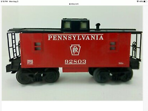 ROLING STOCK 36632 RED PRR  CABOOSE IN  BOX
