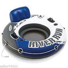 "Intex River Run I Sport Lounge, Inflatable Water Float, 53"" Diameter Chair"