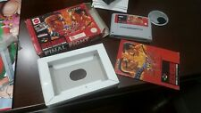 SNES Game FINAL FIGHT Complete in box /PAL version /Extremly Rare