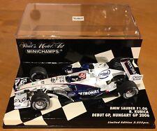 Minichamps 1/43 BMW Sauber F1.06 Kubica 2006 - Debut Hungary GP - New