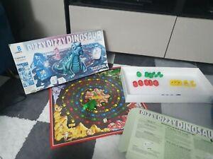Dizzy Dizzy Dinosaur-MB 1987 Vintage Board Game - missing 1 dice