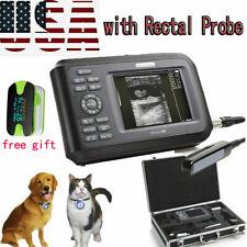 Vet Veterinary Ultrasound Scanner Machine Animal Rectal Transducer Casegift Us