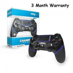 TTX Tech CHAMPION Wireless Controller for PS4 Black