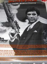Scarface Movie Poster Al Pacino Film Review 1990's