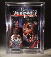 Horror American Werewolf In London Custom Mini Action Figure w Display Case 468