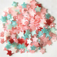 R91 50pcs 10mm fashion Five-pointed star accessories for phone/wedding/craft
