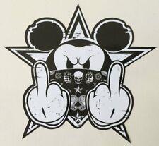 Bad Mickey Aufkleber Hot Rod Biker Bobber Scrambler Chopper USA Sticker V2 MG002