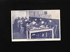 Canada Salvation Army Postcard  WWII Patriotic Writing Room Listowel 1940 7z