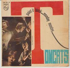 TOMCATS - Paint it black + 1 SINGLE SPAIN 1967 MOD FREAKBEAT ROLLING STONES HEAR