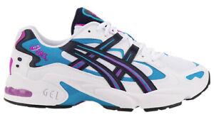 ASICS Men's Gel-Kayano 5 OG Running Shoes White/Midnight Size 7