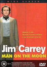 MAN ON THE MOON (Jim CARREY Danny DeVITO) Andy KAUFMAN True Story DVD Region 4